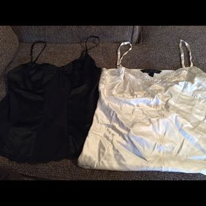 2 large express camisoles